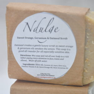 Geranium & Sweet Orange soap 100g
